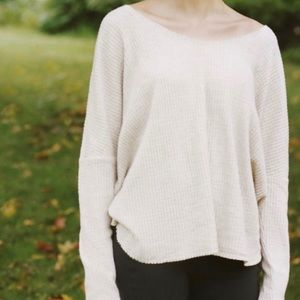Out From Under Oversized Cozy Thermal V-Neck